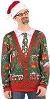 Ugly Xmas Cardigan Sweater Christmas…