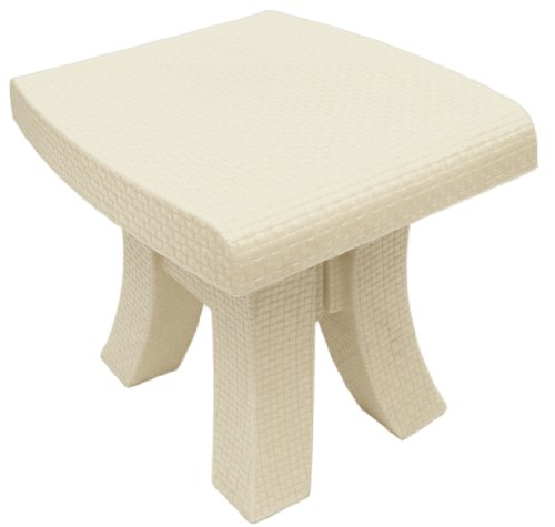TerraSol Monterey Side Table, Cream image