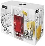 Impressions Glassware 16-pc. Set (Pack of 2)