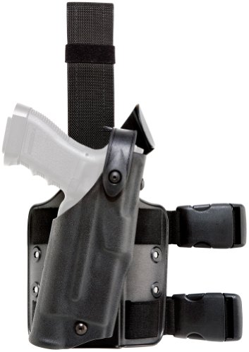 Safariland 6304 ALS Tactical Leg Holster, Black, STX, Glock 17/22 with ITI M3 by Safariland