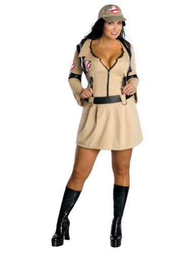 Ghostbuster Plus Size Halloween Costume - Adult Plus