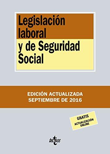 Legislación Laboral Y De Seguridad Social (Derecho - Biblioteca De Textos Legales)