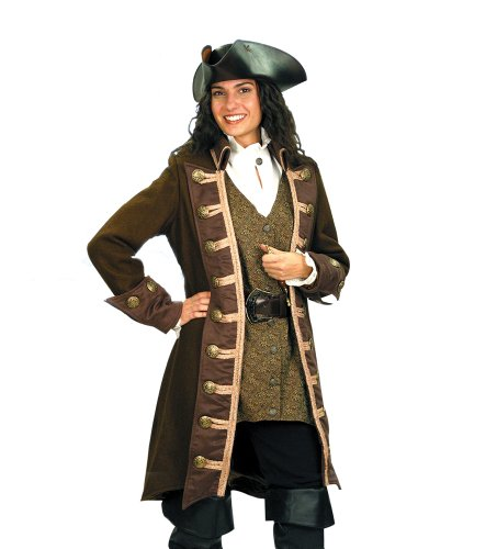 Pirate Clothing for Women - Mary Read Pirate Coat - XLARGE - Halloween Costume