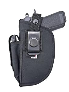 Outbags OB-23SC Nylon OWB Belt Gun Holster with Mag Pouch with Mag Pouch for Laser... from Pistol Holsters