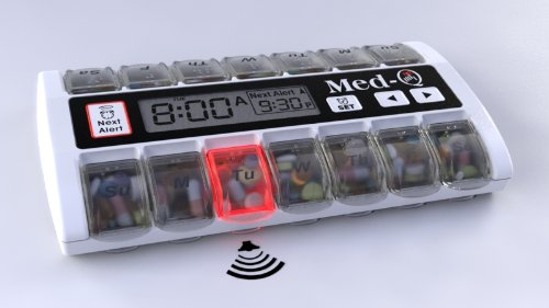 Amazing Pill Dispenser with ALARMS