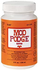 Mod Podge CS11272 8-Ounce Glue, Satin