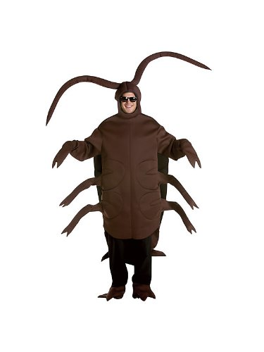 Rasta 6105 Cockroach Halloween Costumes for Adults