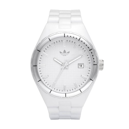 Adidas Originals Unisex White Cambridge Analogue Watch - ADH2124 With Date Display