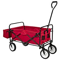 Best ChoiceProducts Folding Wagon with C...