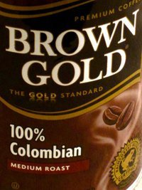 Brown Gold, Ground Columbian Coffee, 11oz Can (Pack of 3)