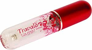 Travalo Pure Red Travalo Pure Travel Sized Refillable Perfume Spray Dispenser, Red