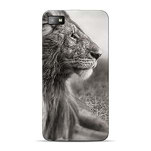 Mobile Back Cover For BlackBerry Z10 (Printed Designer Case)