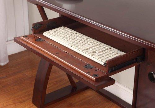 Furniture Desk Roundhill Furniture Solid Wood Computer Desk BR | eBay