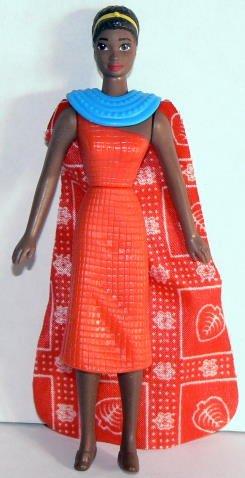 BARBIE ~ McDonald's - KENYAN figurine - 1