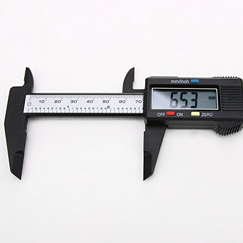 Vernier Caliper Micrometer Electronic Digital Gauge Stainless Steel 150mm 6 inch (Digital Slide Rule compare prices)