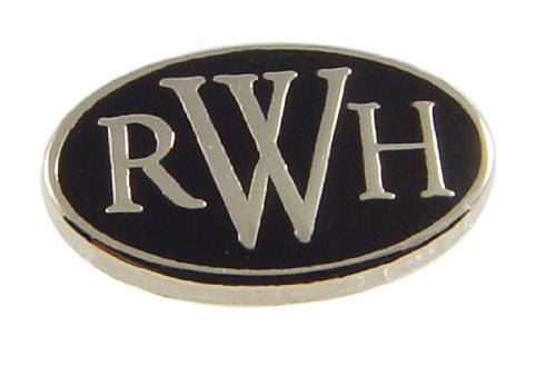 LDS RWH Return With Honor Steel Tie Tack with Silver Finish- Tie Pin, LDS Missionary, Priesthood Gift