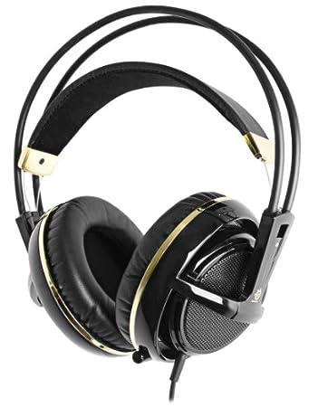 SteelSeries Siberia V2 Full Size Headset: Anniversery Edition - Black/Gold  [Edizione: Regno Unito]