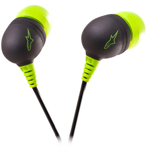 Alpinestars Sumo Ear Buds - Green/Black 1033940636010A