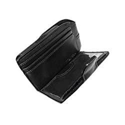 Black Pilot Beltclip Wallet case for HTC Wing HTC Mogul Verizon XV6800