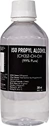 ISO PROPYL ALCOHOL 99%Pure [(CH3)2-CH-OH] CAS: 67-63-0 (200ml)