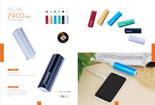 Ramsta RS-240 2400 mAh Power Bank