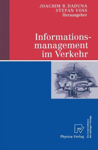 Informationsmanagement im Verkehr (German Edition)