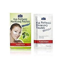 Purederm Botanical Choice Eye Puffinessmizing Patches Ginkgo 6 Treatments