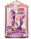 Pony Royale Heart N Sould Change-it-up Hair - Purple & Gold