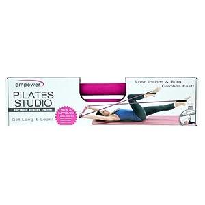 Empower Portable Pilates Studio w/DVD from Fitness Em