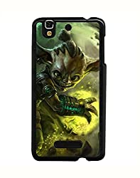 Aart Designer Luxurious Back Covers for Micromax Yureka + 3D F1 Screen Magnifier + 3D Video Screen Amplifier Eyes Protection Enlarged Expander by Aart Store.