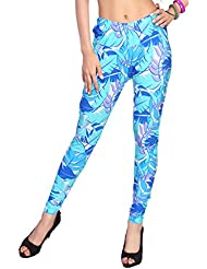 Louis Fashion Imported Cotton Lycra Fabric Fashionable Printed Leggings For Women.