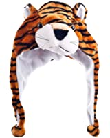 Critter Cap Plush Tiger Hat