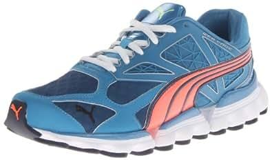 PUMA Men's Mell Es Suga Cross-Training Shoe,Metallic Blue/Fluorescent Peach,7 M US