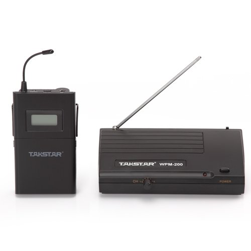 Takstar Lcd 6 Selectable Channels Anti-Jamming Uhf Stereo 50M Transmission Distance In Ear Professional Stage Wireless Monitor System