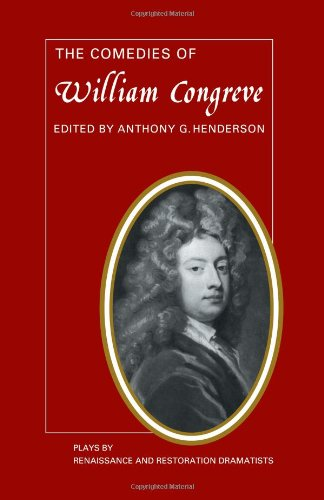 an analysis of william congreves comedy of manners the way of the world Among the many sub-genres of comedy is the comedy of manners, or restoration comedy, which originated in france with molière's les precieuses ridicules (1658) molière used this comic form to correct social absurdities in england, the comedy of manners is represented by the plays of william.