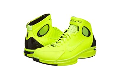 Nike Air Zoom Huarache 2K4 Volt Mens Basketball Shoes Kobe 511425-700 [US size 13]