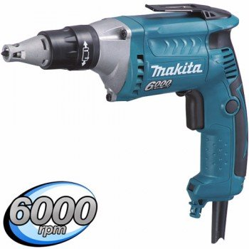 Makita FS6300 Drywall Screwdriver with Silent Clutch 110volt