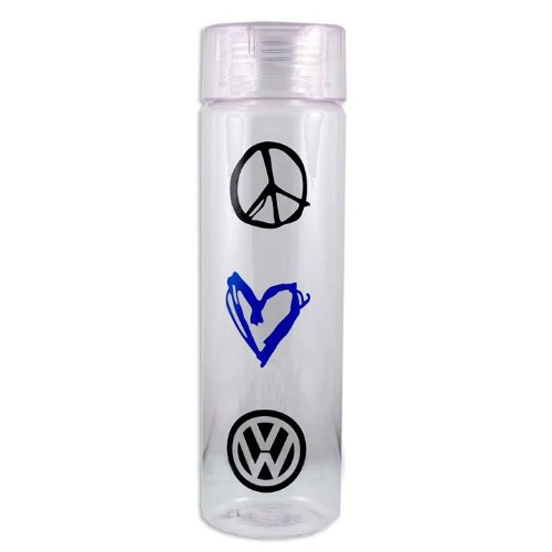 Vw Peace Luv Vw Water Bottle