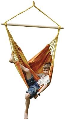 Amazonas EL-1952230 Relax orange Hängesessel, Belastbarkeit 120kg von Amazonas bei Gartenmöbel von Du und Dein Garten