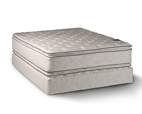 Comfort Double Sided Pillowtop Queen Size Mattress And Box