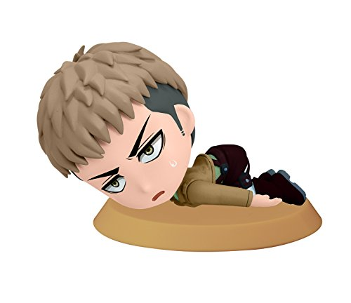 Banpresto Attack on Titan 2.4-Inch Jean Chibi-Kyun-Chara Figure, Training Version