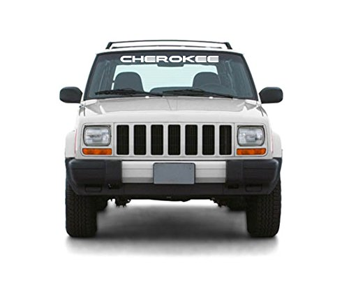 Jeep-Cherokee-Windshield-Sticker-Vinyl-Decal-White-3x33-Free-Shipping-Jeep-Wave-Eat-Sleep-Jeep-Jeep-Hand-Sj-Xj-Zj-Wj-Wk-Wk2-Zj-Wj-Wk-Wk2
