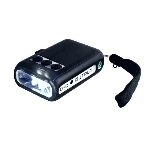 Wagan El2398-1 Micro Dynamo Led Flashlight Charger
