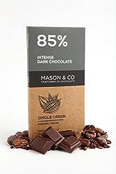 Mason & Co. 85% Intense Dark Organic Chocolate Bar, 70g
