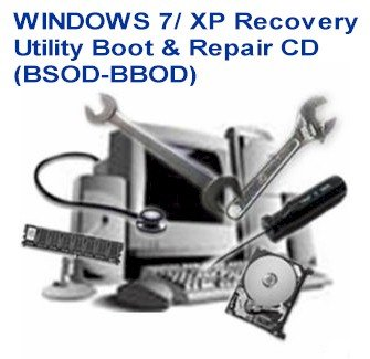 Windows 7/ Xp Recovery Utility Boot & Repair