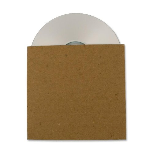 Guided Products ReSleeve Recycled Cardboard CD Sleeve, 25