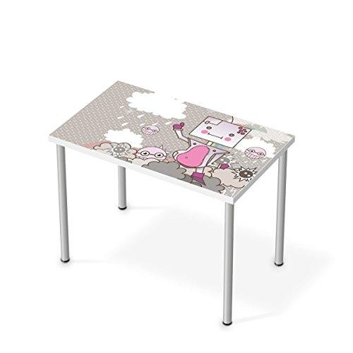 m bel sticker folie f r ikea linnmon tisch 100x60 cm sticker dekorfolien m bel tattoo. Black Bedroom Furniture Sets. Home Design Ideas