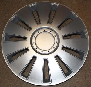 Radkappen/Radzierblenden 17 Zoll SILVERSTONE silver von octimex auf Reifen Onlineshop