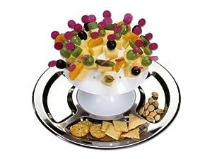 Chg Set194-17 Party Pilz - Juego para servir aperitivos en pinchitos (34 piezas, 32 cm), diseño de seta   revisión