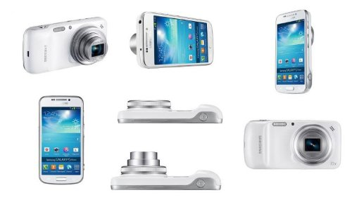 GALAXY Samsung Galaxy S4 Zoom (White ホワイト) SIMフリー 海外携帯